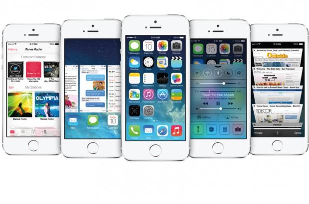 Die neue Optik von iOS 7 (Bild: Apple)