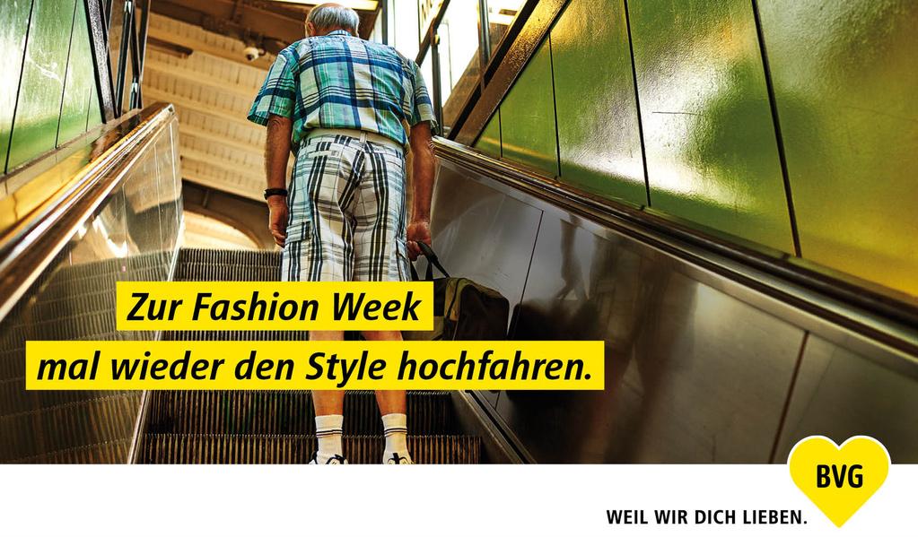 Bvg Werbung Fashion Week