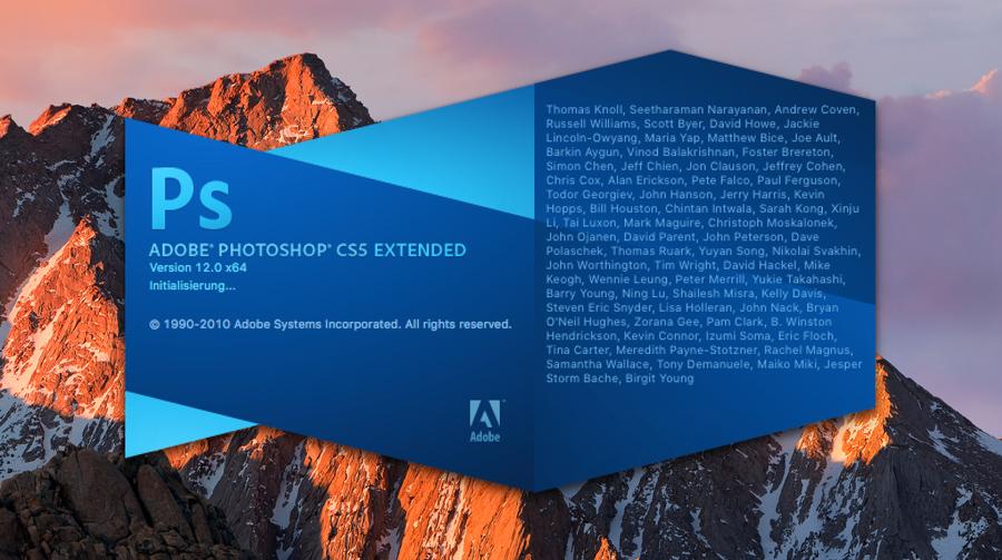 Adobe Photoshop For Mac Sierra