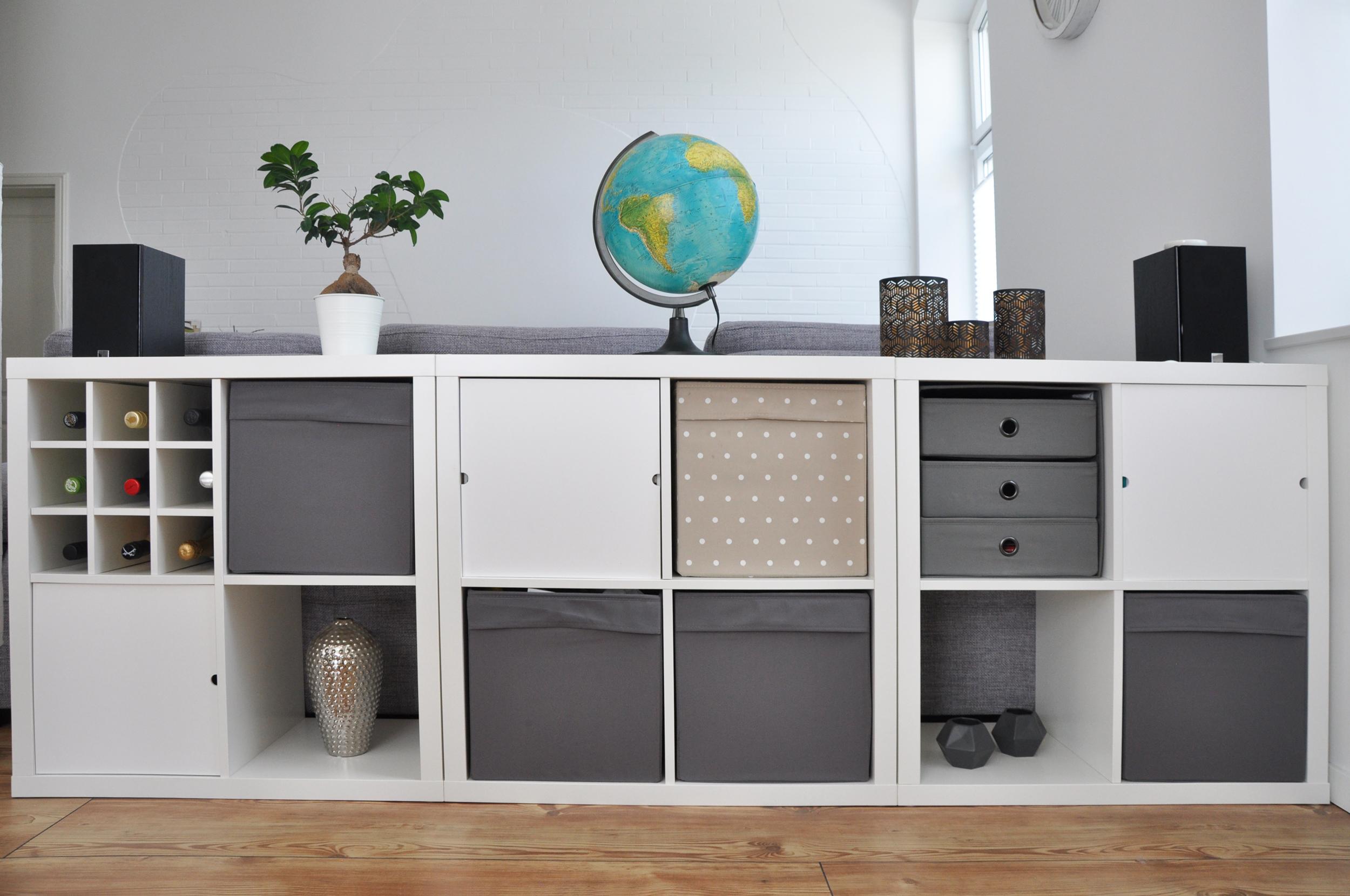 Clutter Cover Im Test Endlich Ordnung Fur Das Ikea Kallax Regal